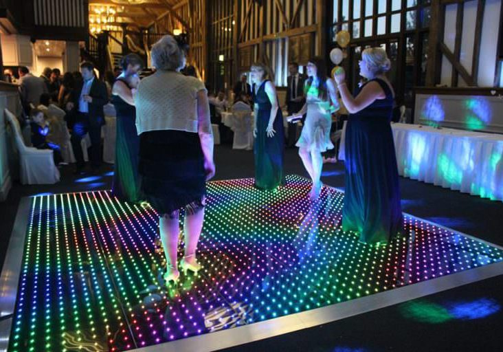 LED Dance Floor StageEvents - How to make a lighted dance floor